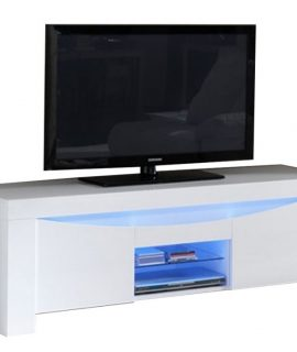 TV Meubel Onda 160 Cm Breed – Hoogglans Wit