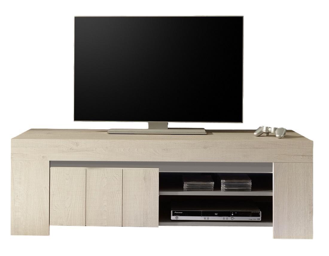 Tv Kast Licht Eiken.Tv Meubel Palmira Light 140 Cm Breed Licht Eiken Tvdesignmeubel Nl