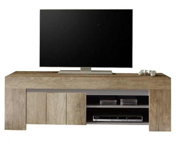 Tv meubel Palmira Olmo 140 cm breed - Canyon eiken