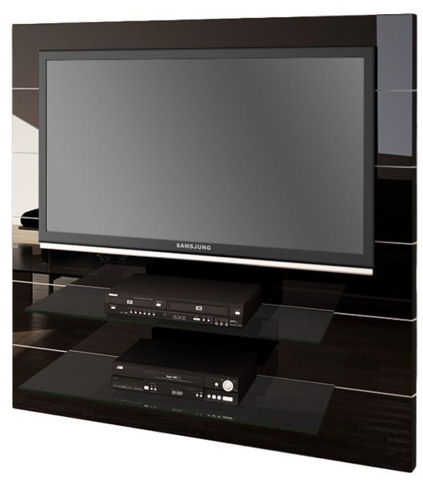 Tv meubel Panorama 2 - Hoogglans Zwart