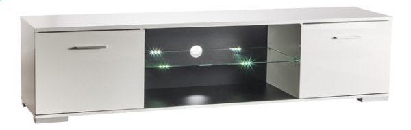TV meubel Persian 180 cm lang in hoogglans wit