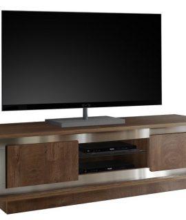 Tv Meubel SKY 156 Cm Breed – Cognac Bruin