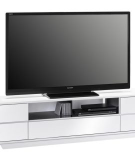 Tv Meubel Stylo 200 Cm Breed – Hoogglans Wit