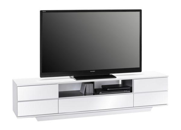 Tv meubel Stylo 200 cm breed - Hoogglans wit