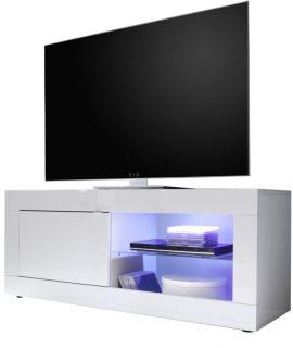 Tv Meubel Tonic 140 Cm – Hoogglans Wit
