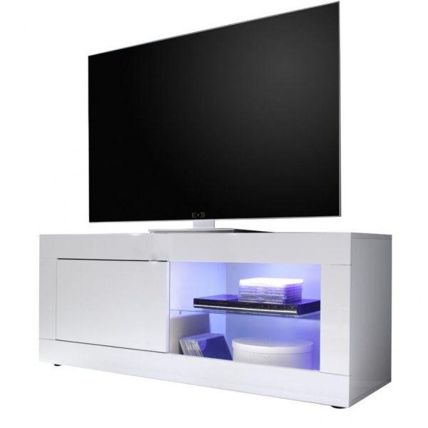 Tv meubel Tonic 140 cm - Hoogglans wit