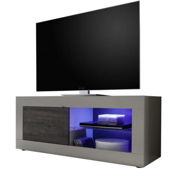 Tv meubel Tonic 140 cm - Mat Beige met wenge