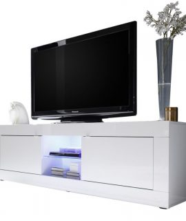 Tv Meubel Tonic 181 Cm – Hoogglans Wit