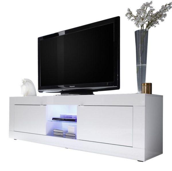Tv meubel Tonic 181 cm - Hoogglans wit