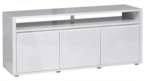 Tv Meubel Umbra 150 cm breed - Hoogglans Wit