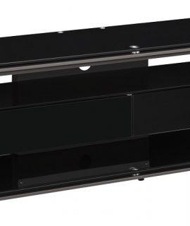 Tv Meubel Yas 170 Cm Breed – Zwart Met Antraciet