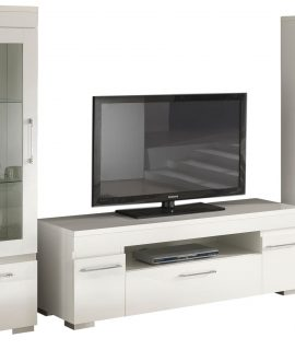 TV Wandmeubel Set Kristal White – Hoogglans Wit