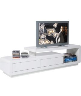 Kare Design White Club TV-meubel Loft 2 Lades