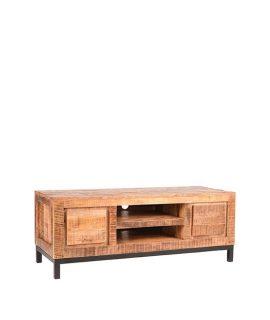 LABEL51 – Tv-Meubel Ghent 120x45x45 Cm – Industrieel – Rough