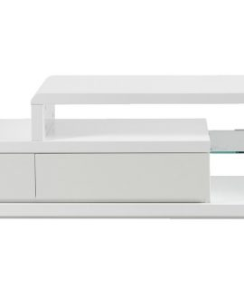 24Designs TV Meubel Sund – L180 X B39 X H45 Cm – Wit