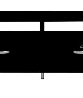 Tenzo Tv Meubel Cobra – L118 X B43 X H46 Cm – Hout – Mat Zwart