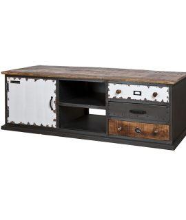 Eleonora Industriële Vintage TV-Kast 160x50cm